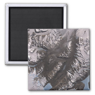 The McMurdo Dry Valleys Square Magnet