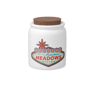 The Meadows Candy Jar