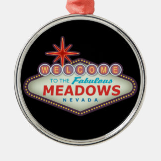 The Meadows Silver-Colored Round Decoration