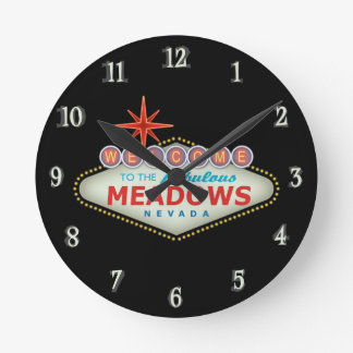 The Meadows Wall Clocks