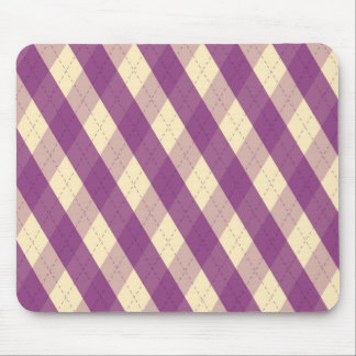 The MeanCliqueViolet Mouse Pad