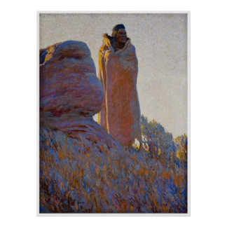 The Medicine Robe by Maynard Dixon 1915 Poster