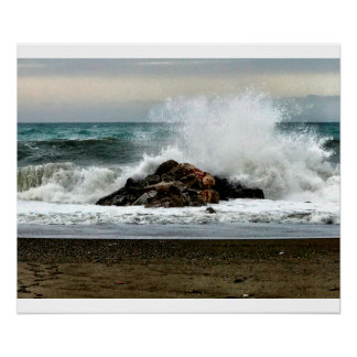 The Mediterranean Sea After a Storm Poster
