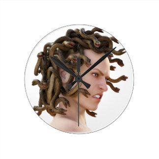 The Medusa Round Clock