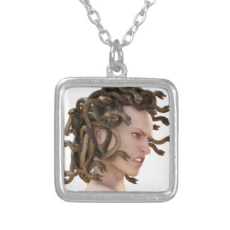 The Medusa Silver Plated Necklace