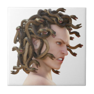 The Medusa Small Square Tile