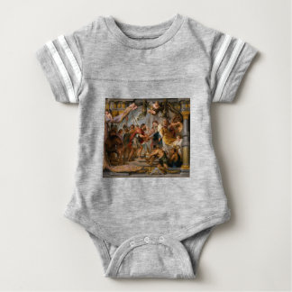 The Meeting of Abraham and Melchizedek Rubens Art Baby Bodysuit