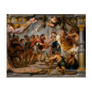 The Meeting of Abraham and Melchizedek Rubens Art Postcard
