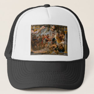 The Meeting of Abraham and Melchizedek Rubens Art Trucker Hat