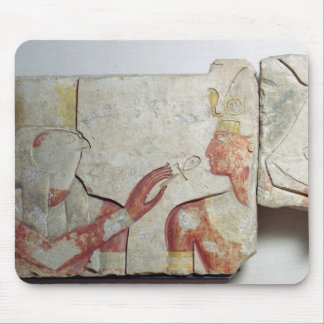 The Meeting of the Pharaoh and Horus Mouse Pad