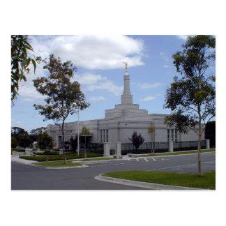 The Melbourne Australia LDS Temple Postcard