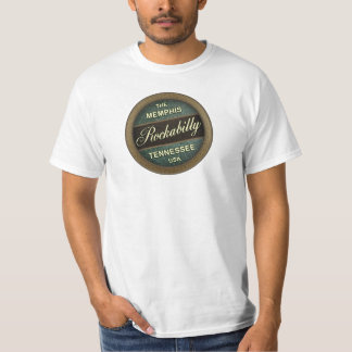 The Memphis Rockabilly Tennessee USA T-Shirt
