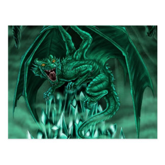 The mena�ant dragon - postcard
