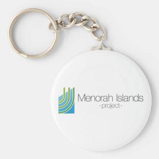 The Menorah Islands Project Key Ring