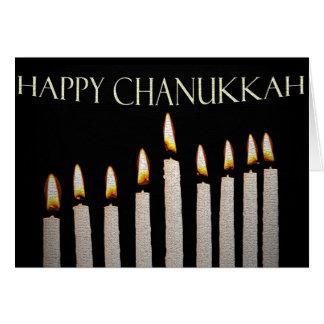 The Menorah's Glow Chanukkah Card