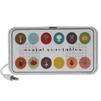 the mental veggies polka! speaker system