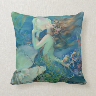 The Mermaid by Henry Clive Cushion