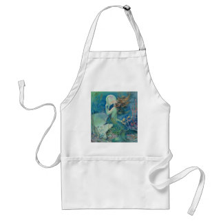 The Mermaid by Henry Clive Standard Apron