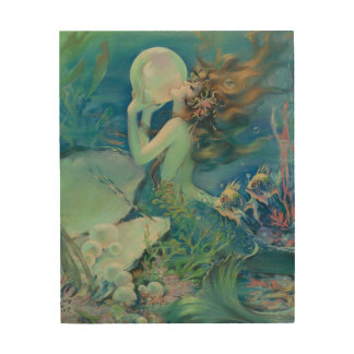 The Mermaid by Henry Clive Wood Prints