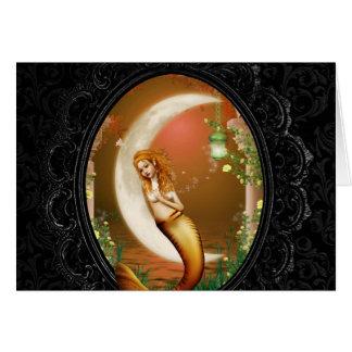 The Mermaid Card