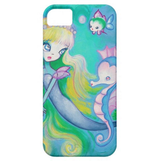 The Mermaid's Sea Horse  (Detail) iPhone 5/5S Cases
