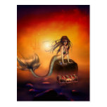 The Mermaids Treasure Post Card