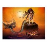 The Mermaids Treasure Postcard