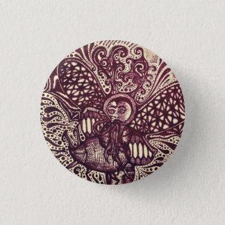 The Messenger Trippy Art Pin