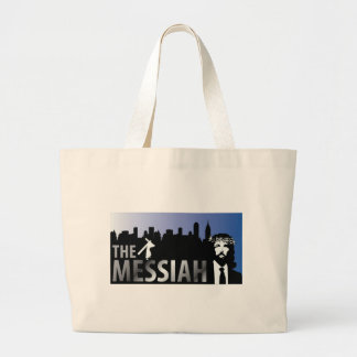 The Messiah  - Jesus Christian T-Shirt Canvas Bags