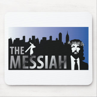 The Messiah  - Jesus Christian T-Shirt Mouse Pad