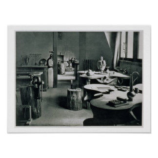 The Metal Workshop, from the Workshops of the Bauh Print