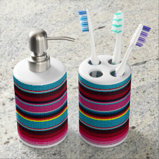 The Mexican Blanket Soap Dispensers
