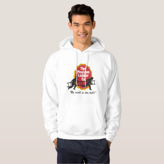 The Mexican Ladder Company Official White Hoodie