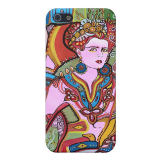 The Mexican Woman Portrait iPhone 5/5S Cases