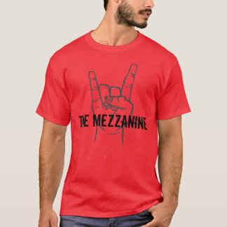 The Mezzanine Official T-Shirt in Red