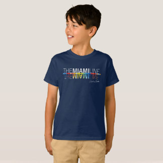 The Miami Line, Rockne Krebs T-Shirt Kids in Navy