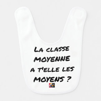 THE MIDDLE CLASS WITH YOU IT THEM AVERAGE? BIB