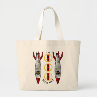 The Middle Way to Peace Jumbo Tote Bag