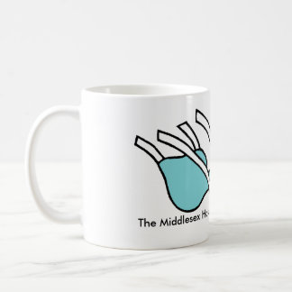 The Middlesex Hospital Dead Ant Mug with title
