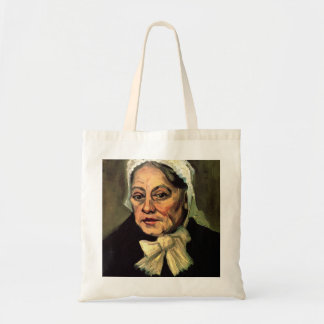 The Midwife  by Vincent van Gogh Canvas Bags