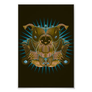The mighty bear and his helper spiritanimals poster