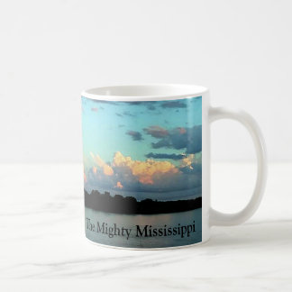 The Mighty Mississippi River Sunrise Coffee Mug