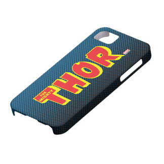 The Mighty Thor Logo iPhone 5 Cases