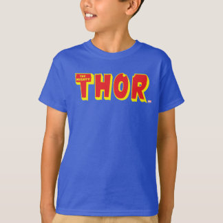 The Mighty Thor Logo T-Shirt
