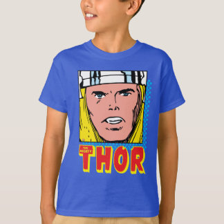 The Mighty Thor Retro Comic Icon T-Shirt