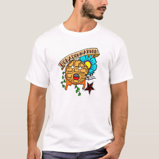 The Mighty Waffle Sings Again! T-Shirt
