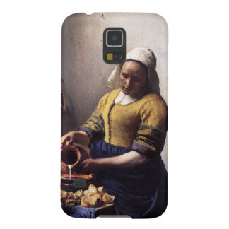 The Milkmaid by Johannes Vermeer Galaxy S5 Cover