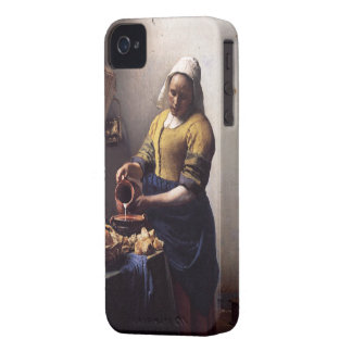 The Milkmaid by Johannes Vermeer iPhone 4 Case