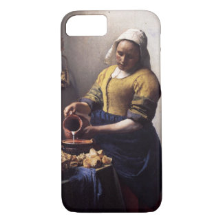 The Milkmaid by Johannes Vermeer iPhone 7 Case