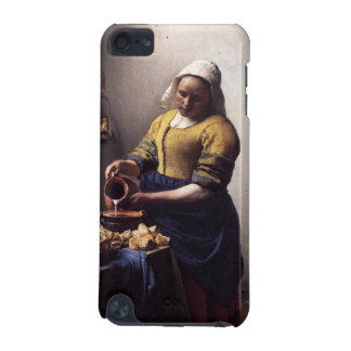 The Milkmaid by Johannes Vermeer iPod Touch 5G Cases